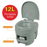 Articles sanitaires de toilette de toilette portative mobile en plastique de toilette