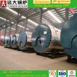 chaudière à vapeur à gaz de fournisseur d'or d'Alibaba de pression de 6ton 13kg/M2