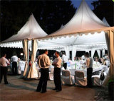 Outdoor Wedding Party Events를 위한 PVC Coated Leisure Pagoda Tent