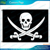 Skull su ordinazione Pirate Flag e Banner (M-NF01F03038)