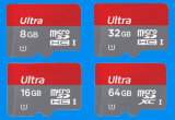 고속 Bulk TF/T-Flash/Micro SD Memory Card From 512MB/1GB/2GB/4GB/8GB/16g/32g/64GB-128GB