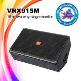 Vrx915m rectángulo audio del altavoz del monitor de 15 pulgadas