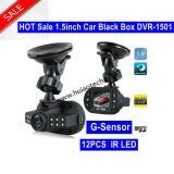 "Barato 1.5 "" coche DVR con la cámara de 1.3mega Cmos, G-Sensor, sensor óptico 1080P"