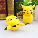 Pokemon는 은행 Pikachu 만화 힘 간다