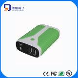 Côté gauche 5200mAh de pouvoir du Portable 2 USB pour le téléphone mobile