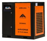 Aprobado CE silencioso aire de tornillo rotativo compresor 15 kw, 20HP 220V / 380V