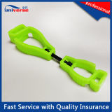Clips en plastique colorés de vente chauds de support de gant de sûreté de POM