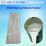 Het vloeibare Rubber van het Silicone voor de Gietende Kroonlijst van het Pleister