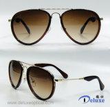 Gafas de sol plásticas de la manera del diseñador a estrenar para las mujeres/señora (DP1263YZ)