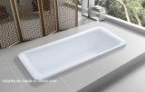 安い長円のアクリルの組み込みの浴槽(LT-6P)