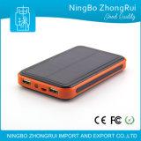8000mAh 10000mAhは携帯電話のための携帯用太陽エネルギーバンクを中国製防水する