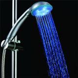 Ducha de 3 colores LED para el proyecto del cuarto de baño o del hotel (SDS-A8)