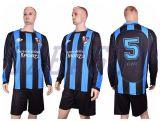 2015熱い販売のサッカージャージーのゴールキーパーのジャージ、フットボールのワイシャツ