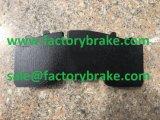 트럭은 공장 브레이크 패드 Wva 29165/29306를 분해한다