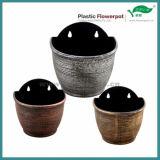 半円形のプラスチック壁の鍋(KD8004S)