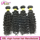 Tecelagem Curly brasileira do cabelo da onda do Virgin