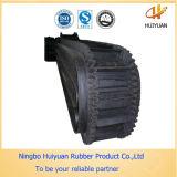 Courroie en caoutchouc résistante de tissu noir (GV certifié)