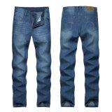 Кальсоны новых людей прямые тонкие одевают джинсыы плотно джинсовой ткани тощие