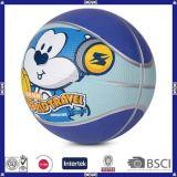 Mini baloncesto de goma de los niños promocionales