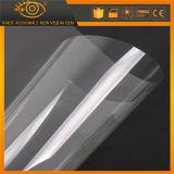 Film protecteur transparent en verre de guichet de garantie pour la glace de construction