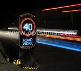 옥외 LED 번쩍이는 디지털 속도 표시 전자 제한 속도 표시
