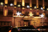 LED del muñeco de nieve adorno de luz para Navidad decoración