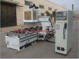 Máquina de estaca de madeira do CNC do eixo da máquina do CNC da estaca do MDF/9kw Italy Hsd