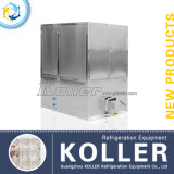 1 tonnellata Automatic Cube Ice Machine con il PLC Program Control