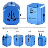 De universele Adapter van de Reis met 6A Zekering, Stop USA/UK/EU/Aus