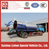 Export nach Afrika Vacuum Sewage Suction Truck Dongfeng 153 Sewer Tanker Truck