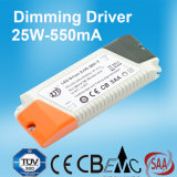 25W 550mA Dimmable LED Stromversorgung mit Cer CB SAA