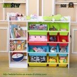 子供の家具(WS16-0242)のための多重機能おもちゃの棚