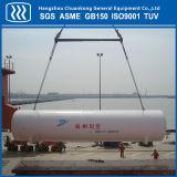 El tanque de almacenaje del líquido criogénico del recipiente del reactor de ASME