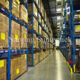 racking seletivo 5-Year da pálete do armazém de armazenamento da garantia