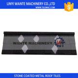 I materiali di tetto di promessa di qualità, smerigliano le mattonelle di tetto rivestite del metallo, mattonelle di tetto d'acciaio
