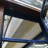 Guichet vers l'intérieur Kz208 d'inclinaison et de spire de composé en bois en aluminium