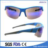 Gafas de sol frescas del ojo de Warparound del nuevo del diseñador Mitad-Borde de la manera