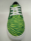 [يوونغ من] مطّاطة أخضر مزلج حذاء