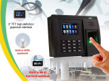 Atendimento de tempo de impressão digital com leitor de cartão de identificação (5000TC / ID)