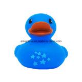 Pato bonito do banho azul para que as crianças joguem