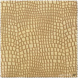 Gelbes Krokodil-Muster Yangbuck Schuh-Leder (S241100YB)