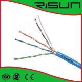 Кабель UTP Cat5e с кабелем Ce/RoHS/ISO9001/LAN