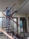 Moderna de la manera 360 ° de rotación de la escalera