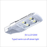 120W IP66 LED Outdoor Street Light con 5-Year-Warranty (Semi-taglio)