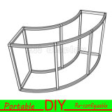 Cabina versátil de la exposición de la feria profesional de aluminio de DIY
