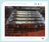 Shell de Ss304# y cambiador de calor enteros del tubo para el enfriamiento del aceite de mesa