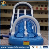 PVCプールが付いている膨脹可能な水公園か使用された膨脹可能な水スライド