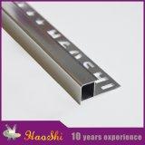 Testo fisso di alluminio delle mattonelle della parete per protezione d'angolo della decorazione e della parete della stanza da bagno