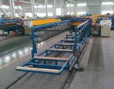 Stapelnde Selbstzahnstange für Speicherablagefach-Transporteinrichtungen