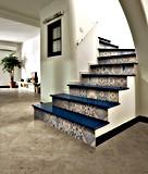 Azulejo de suelo rústico de azulejo de la pared de piedra del cemento del azulejo Sn6672-06